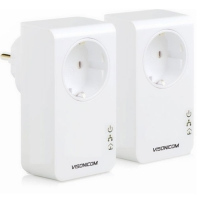 500Mbps AC Pass-through Powerline Network Adapter VPA501P